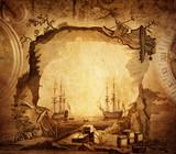 Fototapety adventure stories background