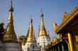 Myanmar, Buddha Temple and Stupas