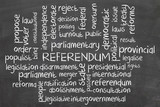 Word cloud for Referendum poster