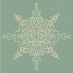 Vintage ornamental pattern