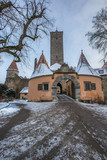 Town Wall and Tower, Rothenburg ob der Tauber, Germany