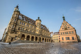 Townhall and Marketplace, Rothenburg ob der Tauber, Germany