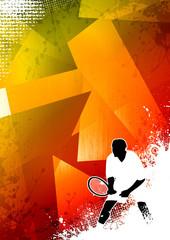 Tennis sport background