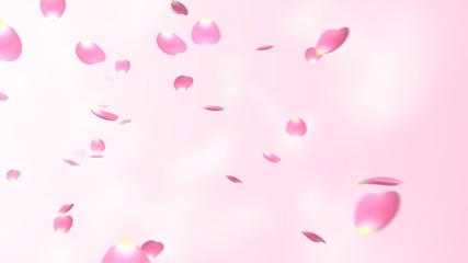 舞い散る花びら