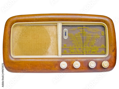Old AM radio tuner
