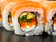 Roll Sushi closeup