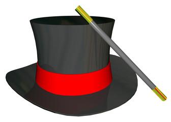 MAGICIAN HAT - 3D