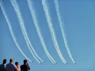 Aircraft airshow