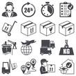 logistics icons