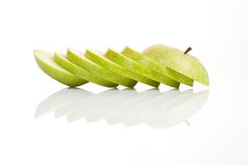 Geschnitten Apfel
