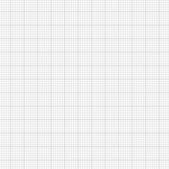 Sheet of Graph Paper Isolated on White