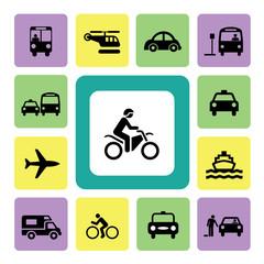 Icon Set Traffic