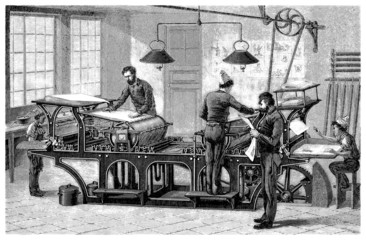 Typo Machine - 19th century