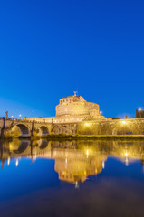 Castel Sant Angelo in Parco Adriano, Rome, Italy