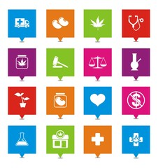 medical marijuana square pointers
