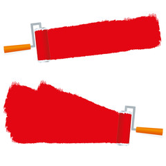 banner paint brush