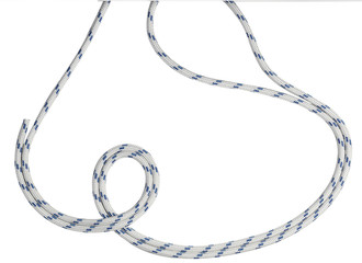 Rope white and blu