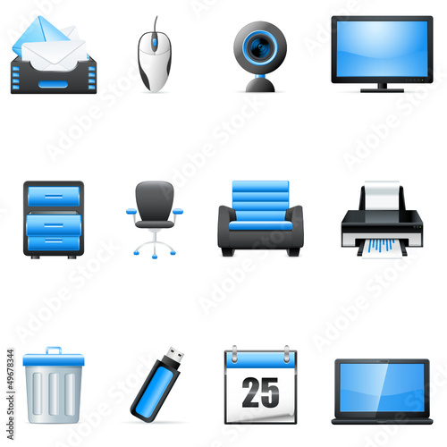 Technologie, Büro - bussinens icons