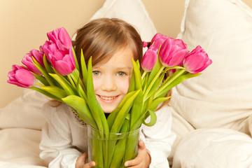 tulpen Mädchen