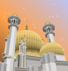 Mosque Vector\