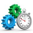 Gears Stopwatch