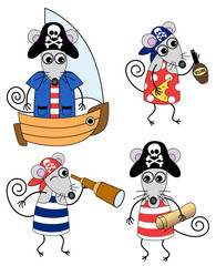 mouse pirates