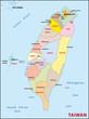 Taiwan Administrativ Verwaltugsgliederung