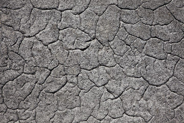 Cement with cracks