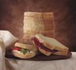 Sliced soft bread