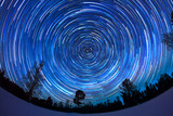 Fototapety Starry sky in winter