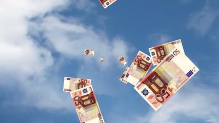 pioggia di banconote