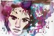 Obrazy na płótnie, fototapety, zdjęcia, fotoobrazy drukowane : watercolor illustration