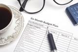 Six Month Budget Plan