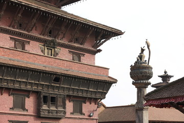 Statue of King Yoganarendra Malla in Patan.