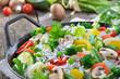 Gemüsereis-Pfanne
