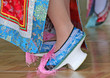 Traditional Chinese High Heel Dance Shoes