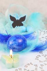 Blaue Ostern