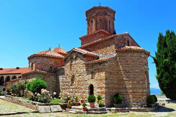 The monastery of St. Naum, Ohrid, Macedonia
