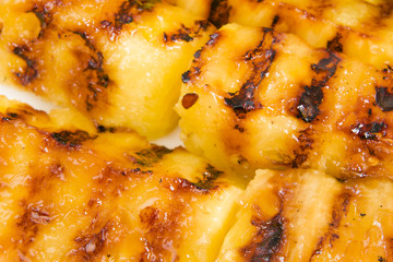 Grilled Pineapple - BBQ favourite sweet side dish and treat!