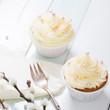 Cup Cakes mit Vanillebuttercreme