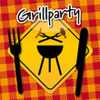 Grillparty, Wintergrillen, Angrillen, Grillsaison, Serviette
