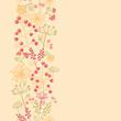 raster summer berries vertical seamless pattern background
