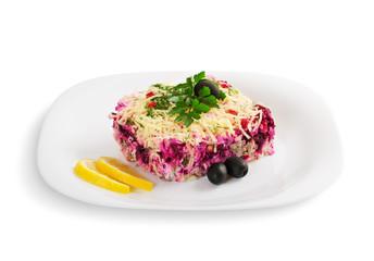 portion of salad