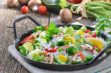 Gemüsereis