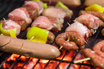 Meat and sausage