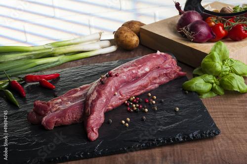 Wildschwein-Filet