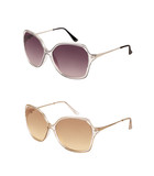 Pair of sunglasses in different colors