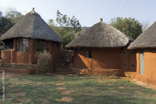 African venda village in Limpopo, South Africa