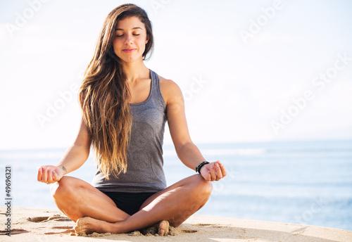 Morning Meditation Plakát