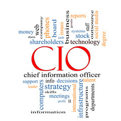 CIO Word Cloud Concept